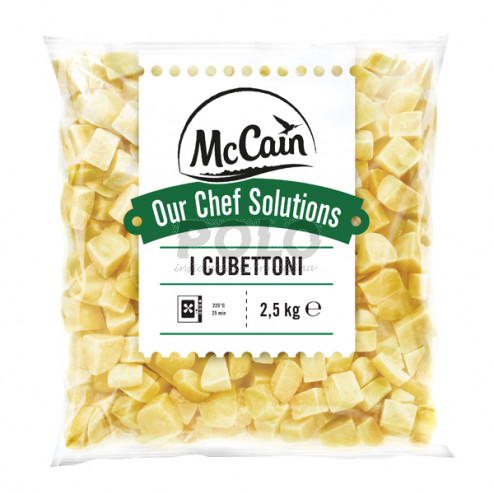 Patate cubettoni nature crude mccain - 01016820