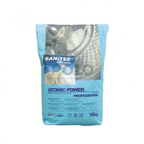 Atomic power polvere sanitec 15 kg - 09972091