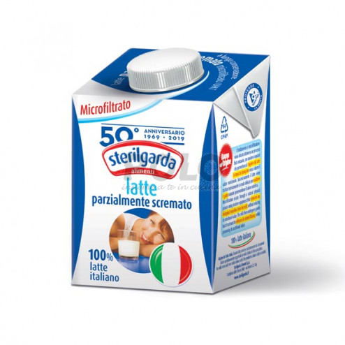Latte parzialmente scremato uht 500 ml - 09981044