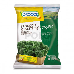 Broccoli a rosette orogel
