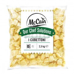 Patate cubettoni nature crude mccain