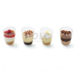 Dolci in bicchiere 4 tipi 36 pz