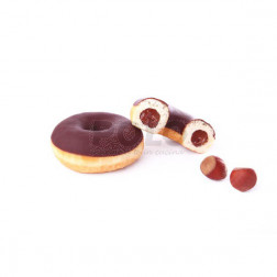 Donuts gourmand con cacao/nocc.69gr 48pz