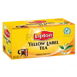 The lipton yellow label 100 filtri
