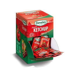 Ketchup monodose develey 15ml x 100 pz