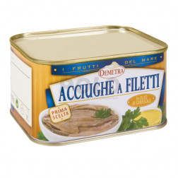 Acciughe filetti o.girasole baulet.380gr