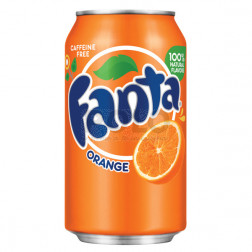 Fanta orange in lattina 330 ml
