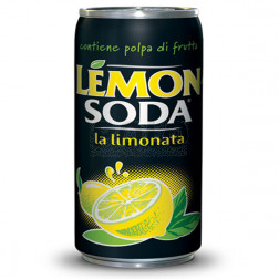 Lemonsoda in lattina 330 ml