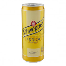 Schweppes tonica sleek 330 ml