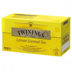 Twinings classic lemon scented 25 filtr