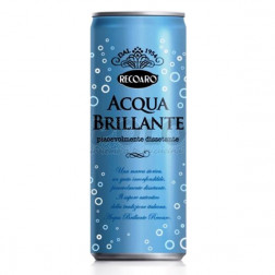 Acqua brillante lattina sleek 33 cl