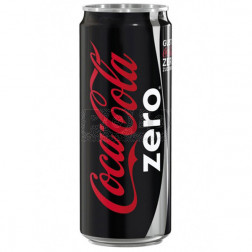Coca cola zero in lattina 330 ml