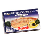 Filetti di sgombro in o.oliva 125 gr